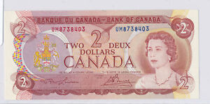 Canada 1974  2 Dollars  RC0097 combine shipping