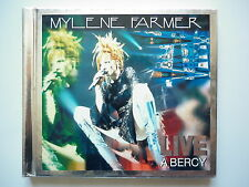 Mylene Farmer double cd album digipack Live à Bercy 96