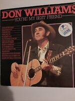 DON WILLIAMS YOUR MY BEST FRIEND VINYL ALBUM LP FREE DELIVERY