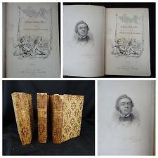 Vanity Fair William Makepeace Thackeray New York Harper & Brothers 1865 – 3 vol.