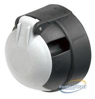 Replacement Car 12S 7Pin Black White Plastic Socket