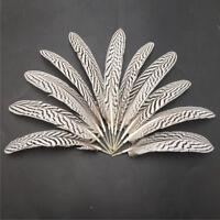 50pcs Beautiful pretty precious natural turkey feathers 7-9 inches/18-22 cm