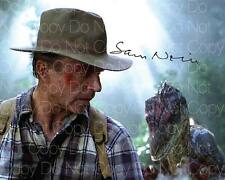 Jurrasic Park signed Sam Neil World 8X10 photo picture poster autograph RP 2