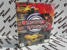 SPEED DEMONS - PC COMPUTER BIG BOX EDIZIONE CARTONATA ITALIANA - NUOVO SIGILLATO