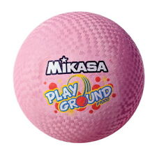 Mikasa Rubber Cover Playground Ball, 10 Dia in, Pink
