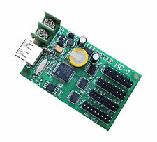 HC-1 Full Color RGB USB-Key Asynchronous Lintel Led Sign Control Card 4 hub75b
