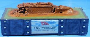 1:1750 White Star Line RMS Titanic Ship Wreck 107 Years Later Anniversary Model