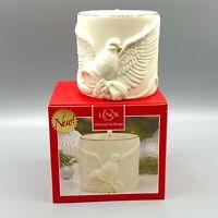 Lenox American by Design Radiant Light Dove Votive Tealight Candle Holder NIB