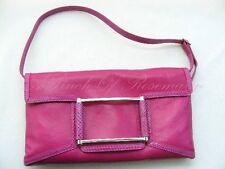 Lambertson Truex Paris Paxton Luxury Handbag Leather Snake Trim  MSRP $1295