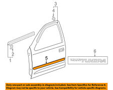 TOYOTA OEM 03-06 Tundra FRONT DOOR-Body Side Molding Left 757320C020B2