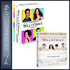 WILL AND GRACE COMPLETE ORIGINAL SERIES PLUS THE REVIVAL SEASON 1*BRAND NEW DVD