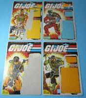 Lot 1985 GI Joe Full Uncut File Card Back Set Ripper Barbeque Airtight Alpine