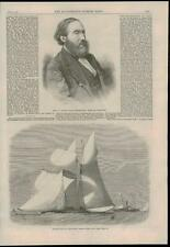 1868 - SAILING MATCH Royal London Yacht Club WARING LEEDS ART EXHIBITION (3)