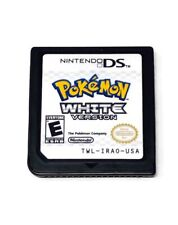 Pokemon: White Version (Nintendo DS 3DS, 2011) - AUTHENTIC! Very Good Game Cart