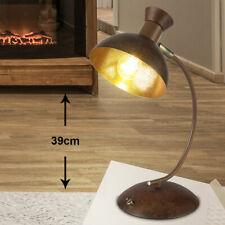 LED Retro Steh Lampe höhenverstellbar Schein Werfer beweglich Leuchte rost gold