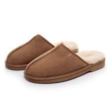 Sw1300 UGG Men's Scuff Slippers Chestnut Colour Doubleface Australian Sheepskin M