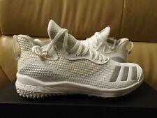 Adidas Icon V Turf Baseball Trainer Men's Shoes White/Silver Metallic EF2849 NEW