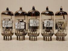 Amperex Bugle Boy 6Dj8 Vacuum Tubes Measuring Strong Qty 4 Plus a Mullard!