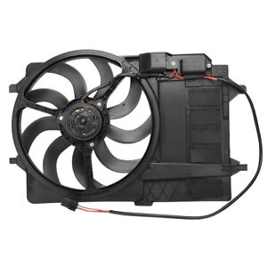 TOPAZ Radiator Condensor Cooling Fan Assembly for MINI Cooper S R50 R53 R52 1.6L