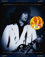 Led Zeppelin Detroit Rock City 1973 Volume 2 4CD 23 Tracks Music Japan