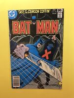 BATMAN #298 Case of the Crimson Coffin and Series of Clues DC 1978