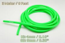 3 METRE GREEN SILICONE VACUUM HOSE AIR ENGINE BAY DRESS UP 4MM FIT CHEVROLET