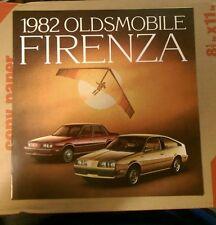 1982 Oldsmobile Firenza dealer brochure