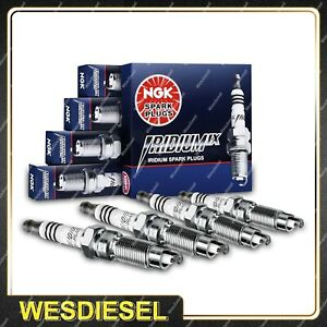 4 NGK Iridium Spark Plugs for Toyota Celica ST184 Echo MR2 Paseo Starlet Starlet