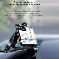 Phone GPS Clip Adjustable Holder Shockproof For Baseus Car Dash Bullet Dashboard