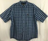 Rocky Men's Short Sleeve Button Down Shirt Size XLarge
