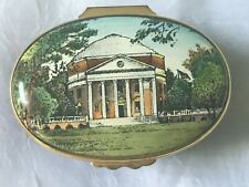 Halcyon Days Enamel Box University of Virginia Rotunda, Lawn Society