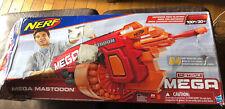 Nerf N-Strike Mega Mastodon Blaster Soft 24 Dart Gun Drum Battery Operated W Box