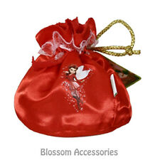 A548 Red Rosetta Tinkerbell Fairy Tote Bag Purse Party Girl Costume Accessory