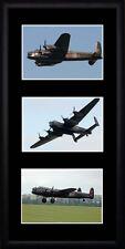 Lancaster Bomber Framed Photographs PB0556