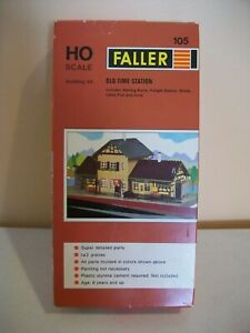 FALLER HO SCALE - OLD TIME STATION # 105