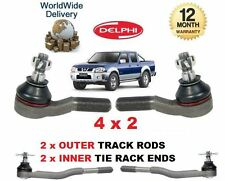 FOR NISSAN NP300 & PICKUP D22 1998--> 2x OUTER & 2x INNER TRACK RACK TIE ROD END