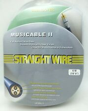 Straightwire Musicable II  6 meter Subwoofer cable