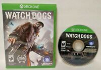 Watch Dogs  - Microsoft Xbox One Game - Tested ! XBOX 1  Watchdogs