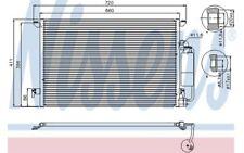 NISSENS Condensador, aire acondicionado MERCEDES-BENZ CLASE E CADILLAC BLS 94675