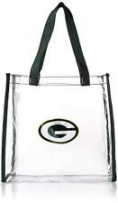 """NFL Official Licensed Green Bay Packers Clear Reusable Stadium Approved Bag 12"""""""