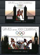 Papua Neuguinea 2012 Olympiade Olympics London Boxen Schwimmen Postfrisch MNH