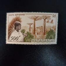 FRANCIA COLONIA MADAGASCAR CORREO VISTA AÉREA PA Nº73 NEUF LUXE MNH