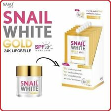 Namu Life Snail White Gold 24K Younger Look SPF30 PA++ Lipobelle UVA&UVB 7ML x 6