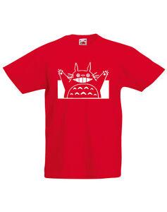 My Neighbor Totoro, Studio Ghibli inspired Kid's Printed T-Shirt