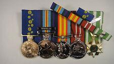 Order of Australia, Vietnam  campain medals + Ribbon Bar