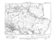 Old map of Penryn, Mylor Bridge 1908 - Cornwall, repro Corn-71-NE-1908