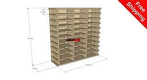 Ink pad storage holder for Tim Holtz sized distress inks Fits Ikea Kallax Units