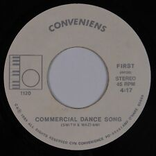 CONVENIENS: Commercial Dance Song '85 private Industrial Avant Garde 45 Hear It