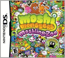 Moshi Monsters: Moshling Zoo (Nintendo DS, 2011)