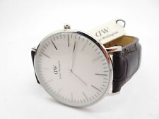 81987da476607 Men s Silver Strap Daniel Wellington Classic Wristwatches for sale ...